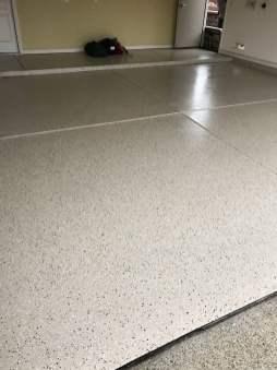 Maui Sand Garage Epoxy Flooring
