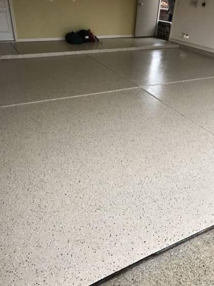 Maui Sand Garage Epoxy Flooring