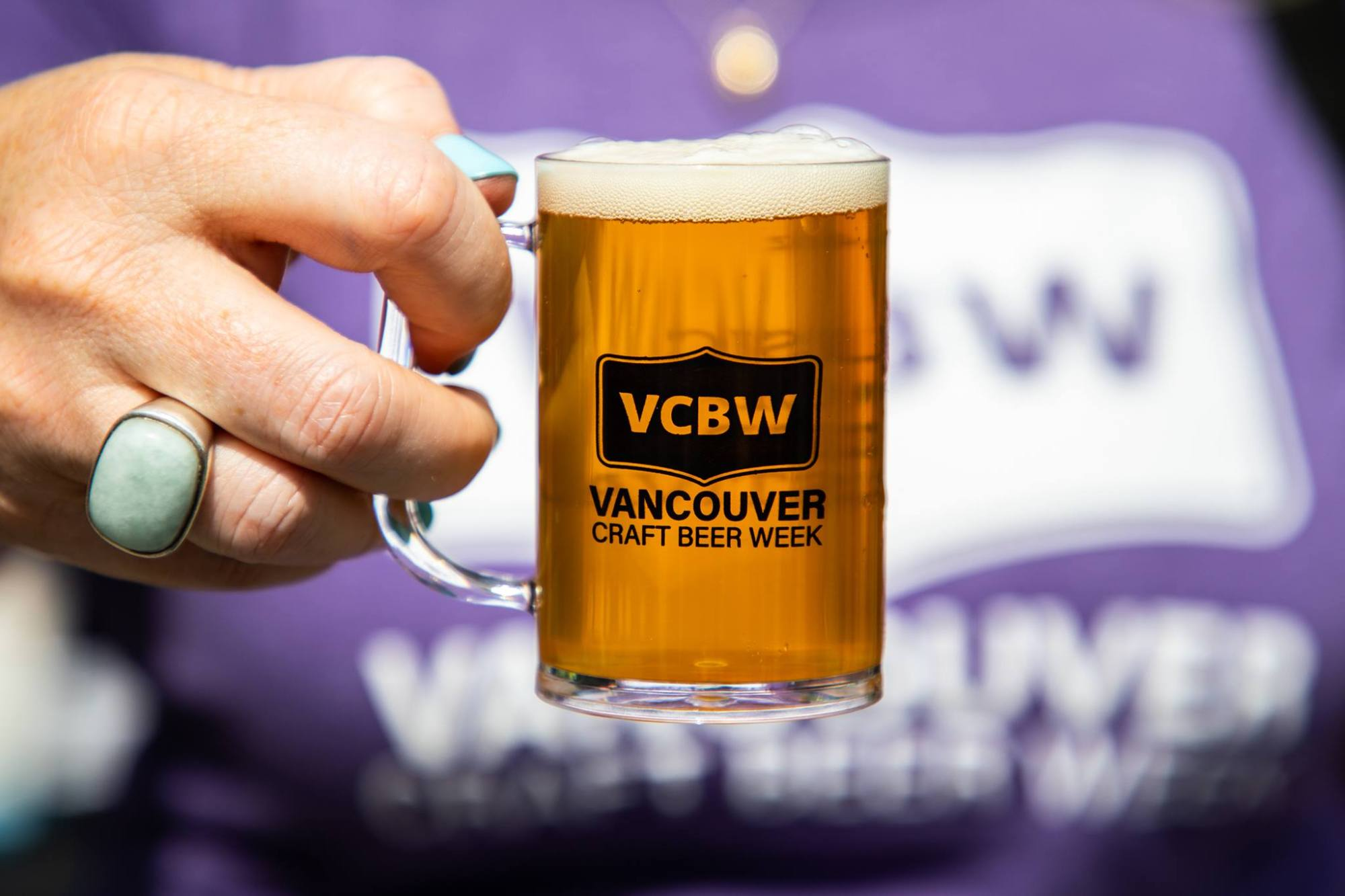 hight resolution of vancouver craft beer week festival