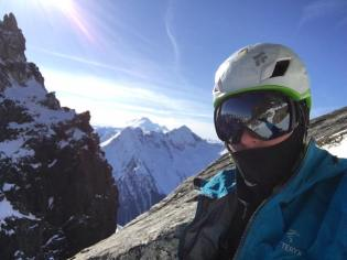 Somewhere above the notch. Sun lounging. (Marc-André Leclerc)