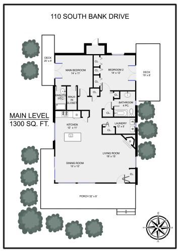 Floor Plans Salt Spring Island