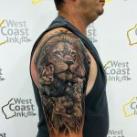 Cover up Family Lion's