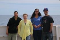 Team 'pH': Sherwood Liu, Katie Douglas, Erin Culyer, Jonathan Sharp. Photo Credit: Meghan Shea