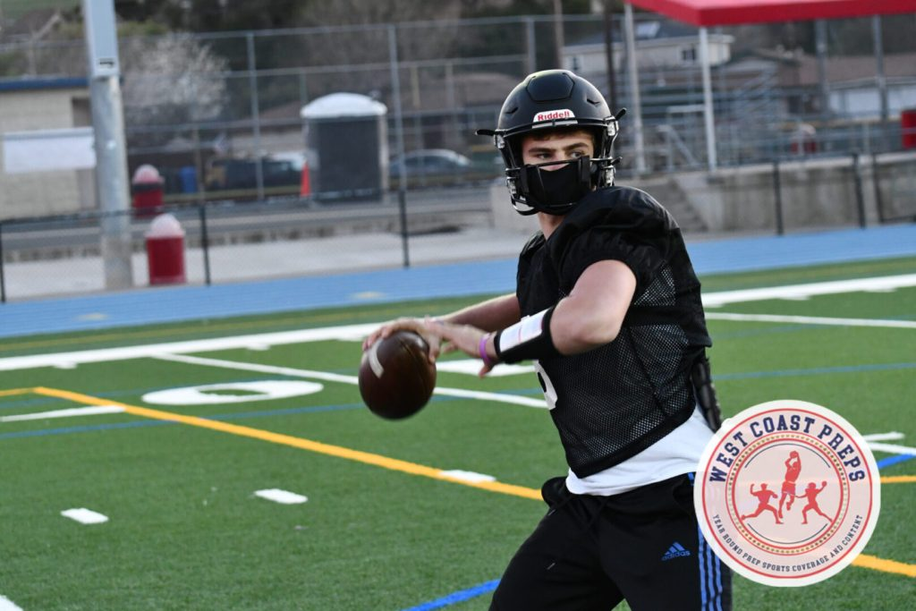 Jake Kern practices at Clayton Valley on March 5, 2021. Chris Jackson / Staff Photo