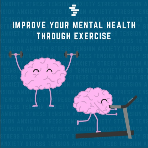 Improve your mental health through exercise