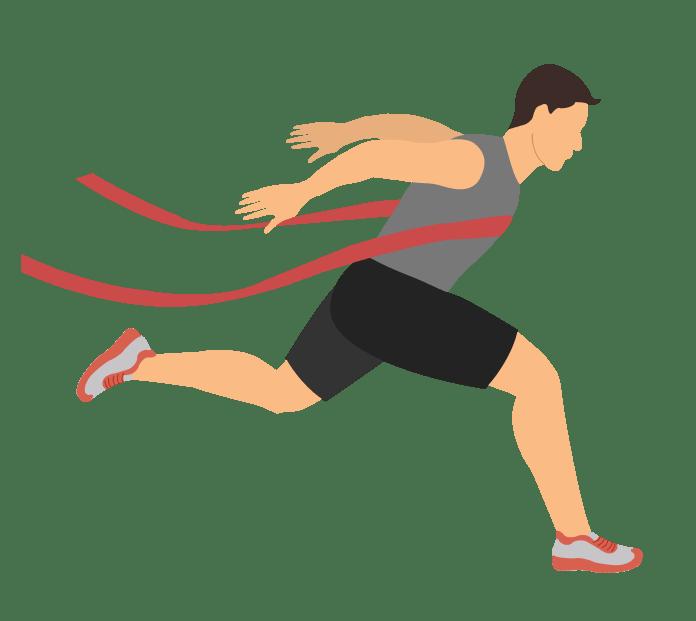competitive / elite runner