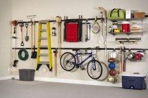 Fast Track Garage Organization System
