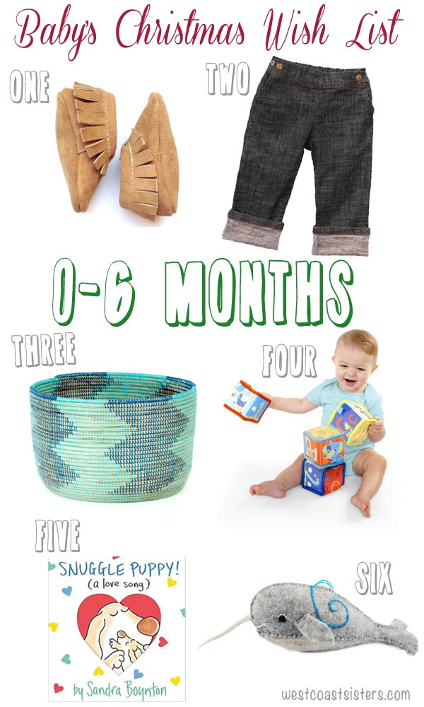 Baby Christmas Gifts 6 Months