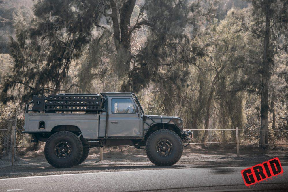medium resolution of 1984 land rover defender grid off road gd4 wheels west coast wheel tire