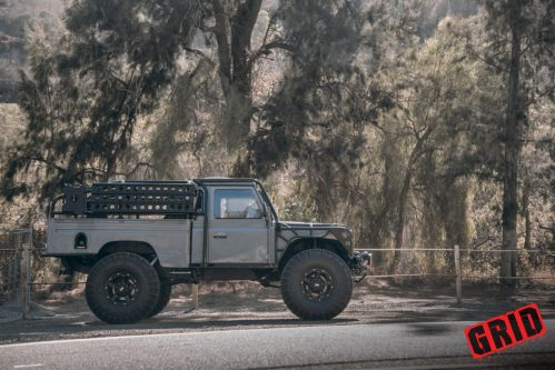 small resolution of 1984 land rover defender grid off road gd4 wheels west coast wheel tire