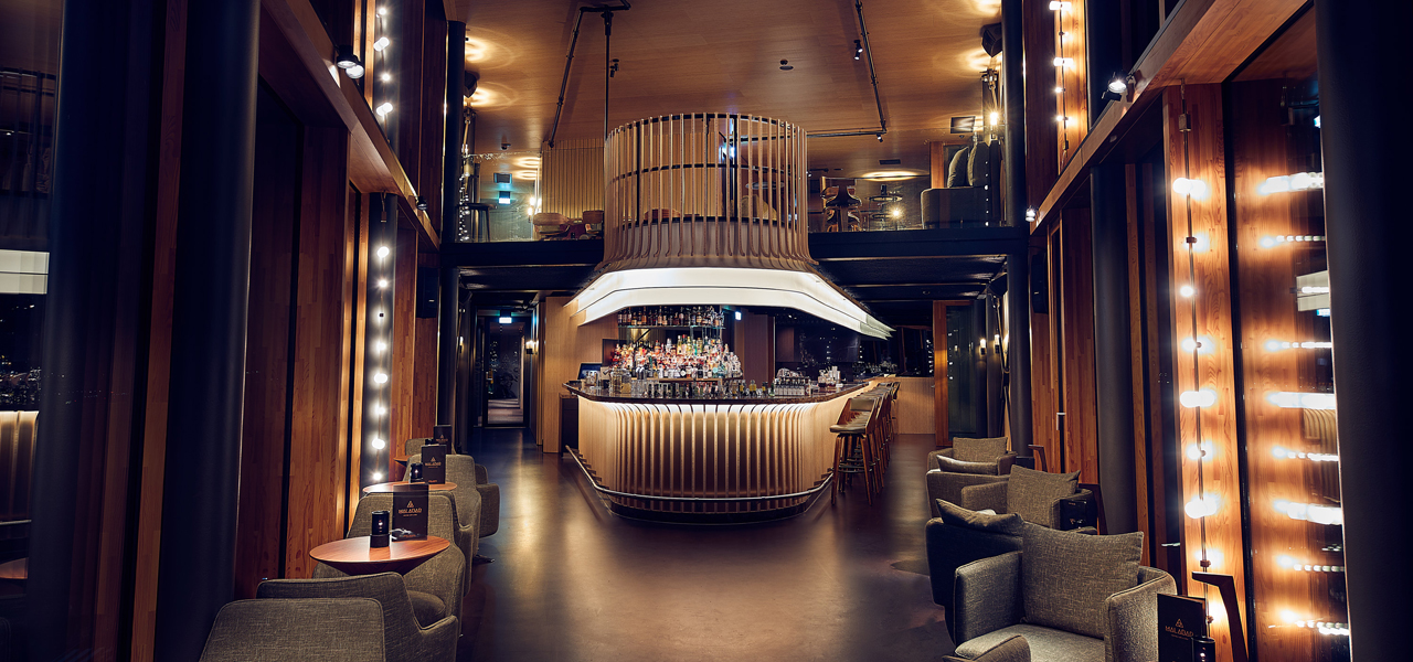 the living room with sky bar decorate end tables skybar malabar hotel jakarta amsterdam by westcord enjoy view 360º foto