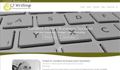 Writer Website Design and Content Marketing