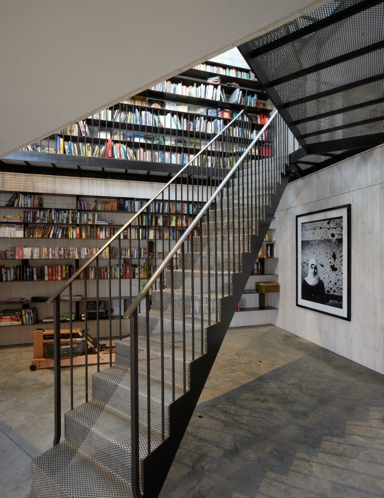 Staircase by West Country Blacksmiths - Winner of Architects Journal Specification Staircase Of The Year.
