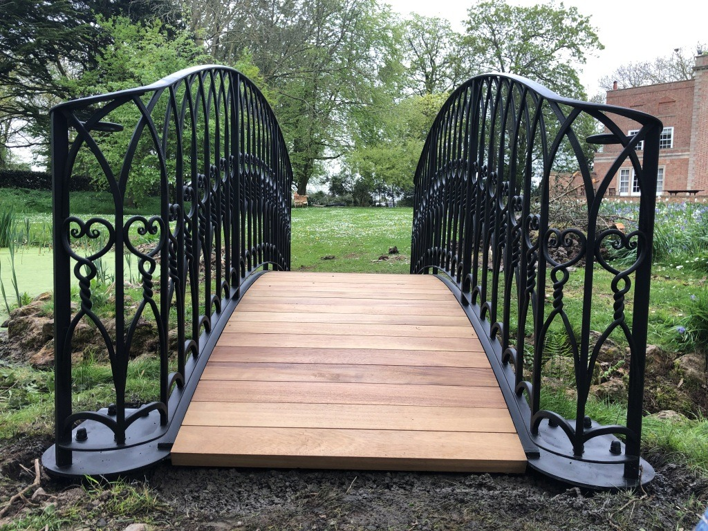 Bridge made by West Country Blacksmiths