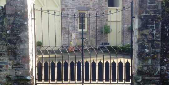 Bespoke Gates for private residence in Combe Martin, Devon