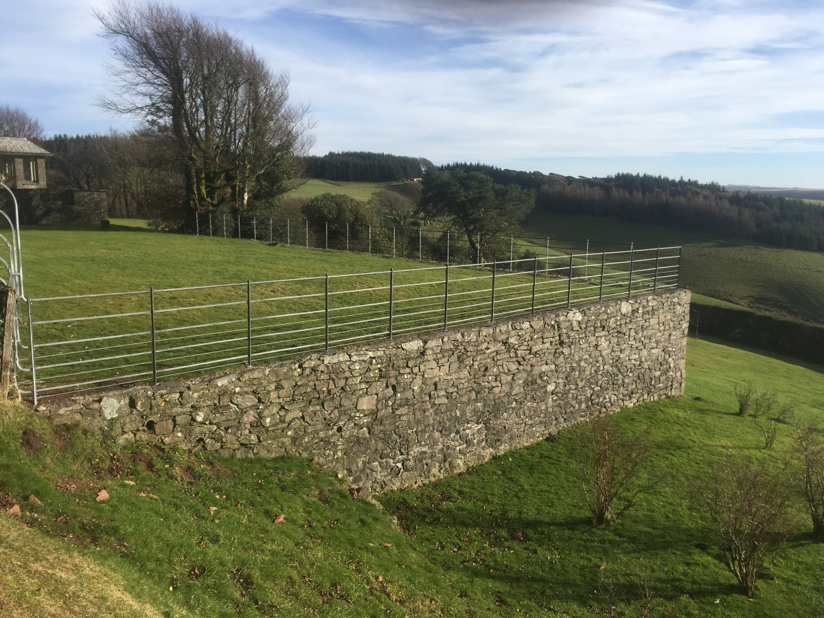 Bespoke estate gates and railing produced for the Lillycombe Estate in Porlock, Somerset.