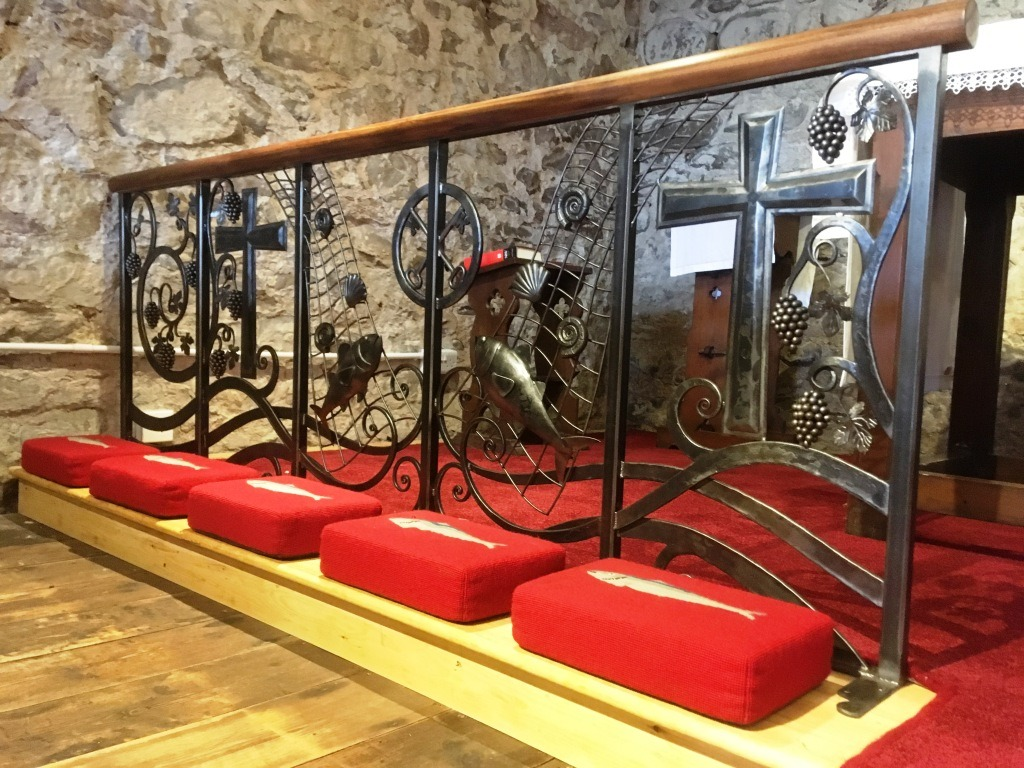 Church alter rail by West Country Blacksmiths