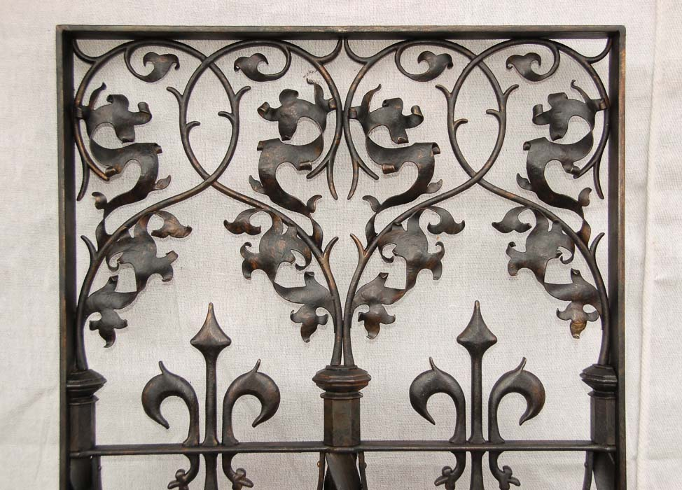 Bespoke forge panels - replicas from the V & A Museum