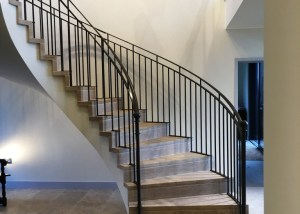 Spiral Balustrade by West Country Blacksmiths