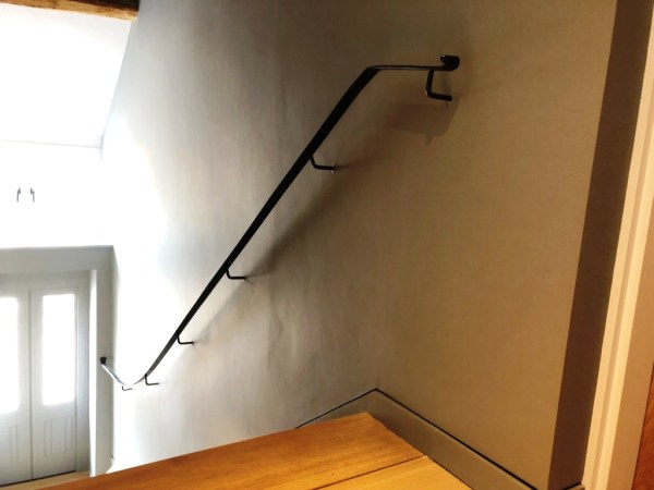 Bespoke metal handrails - Internal handrail by West Country Blacksmiths