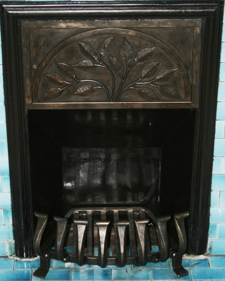 bespoke fire insert and grate