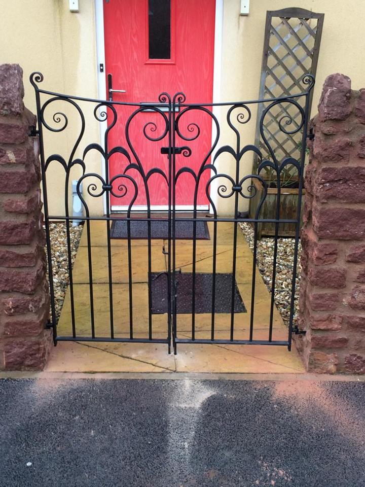 Bespoke gates by West Country Blacksmiths