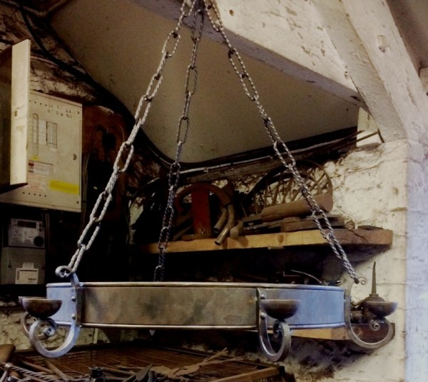 Chandelier by West Country Blacksmiths