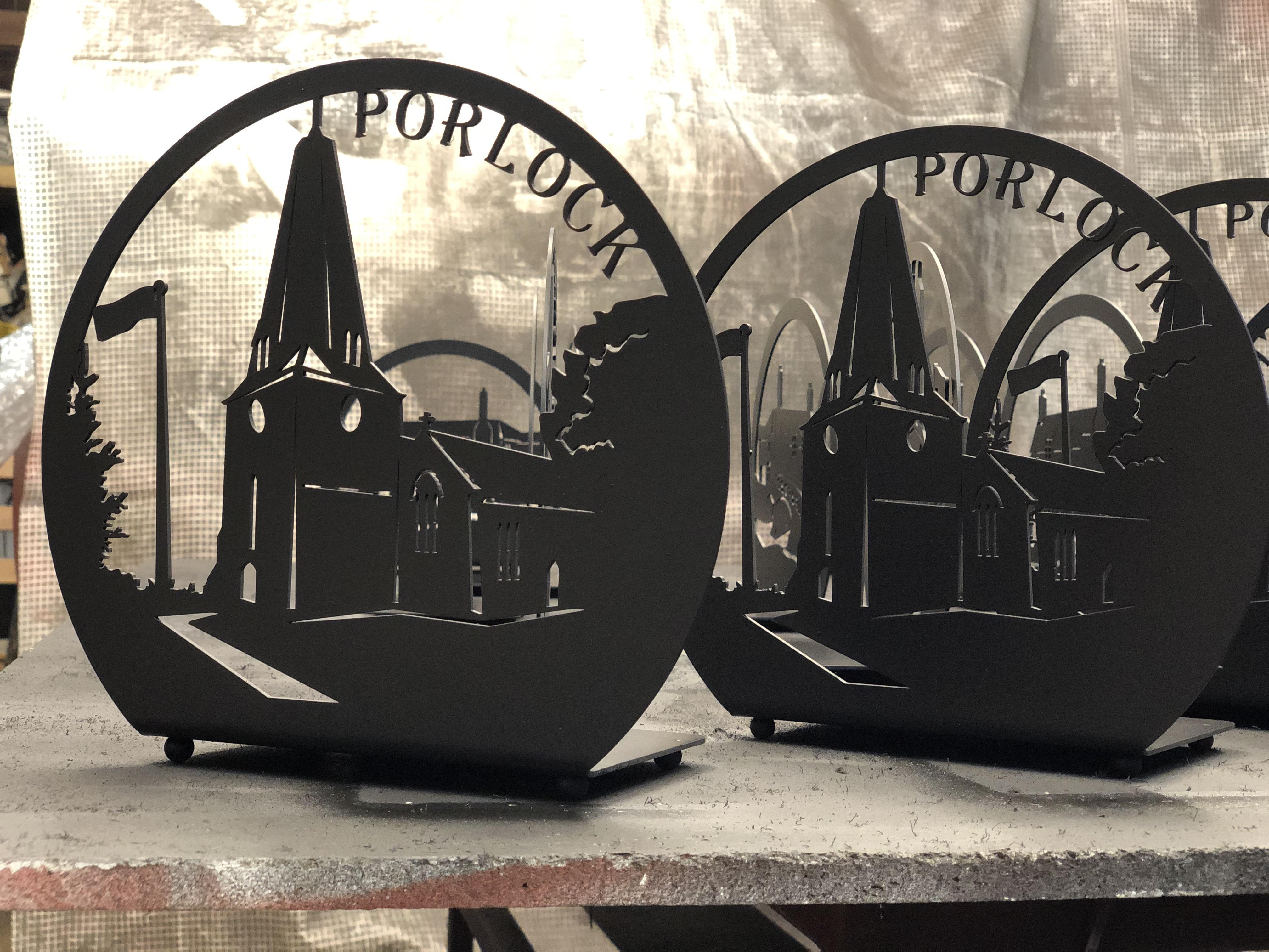 Porlock Candle Trays