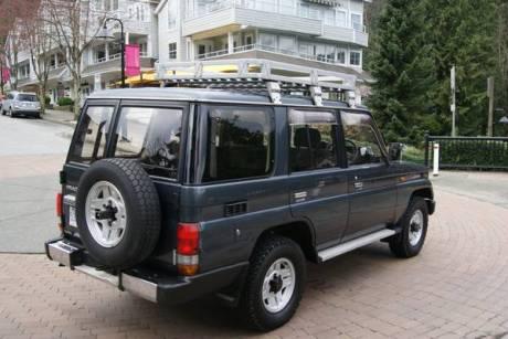 Toyota Land Cruiser Prado Turbo-diesel, West County Explorers Club