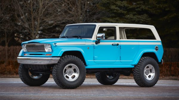 Jeep Chief concept, West County Explorers Club