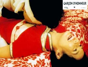 THE WEDDING BANQUET, (aka XI YAN, aka GARCON D'HONNEUR), Winston Chao (top), May Chin, 1993, © Samuel Goldwyn