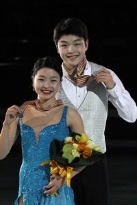 Maia and Alex Shibutani in 2011