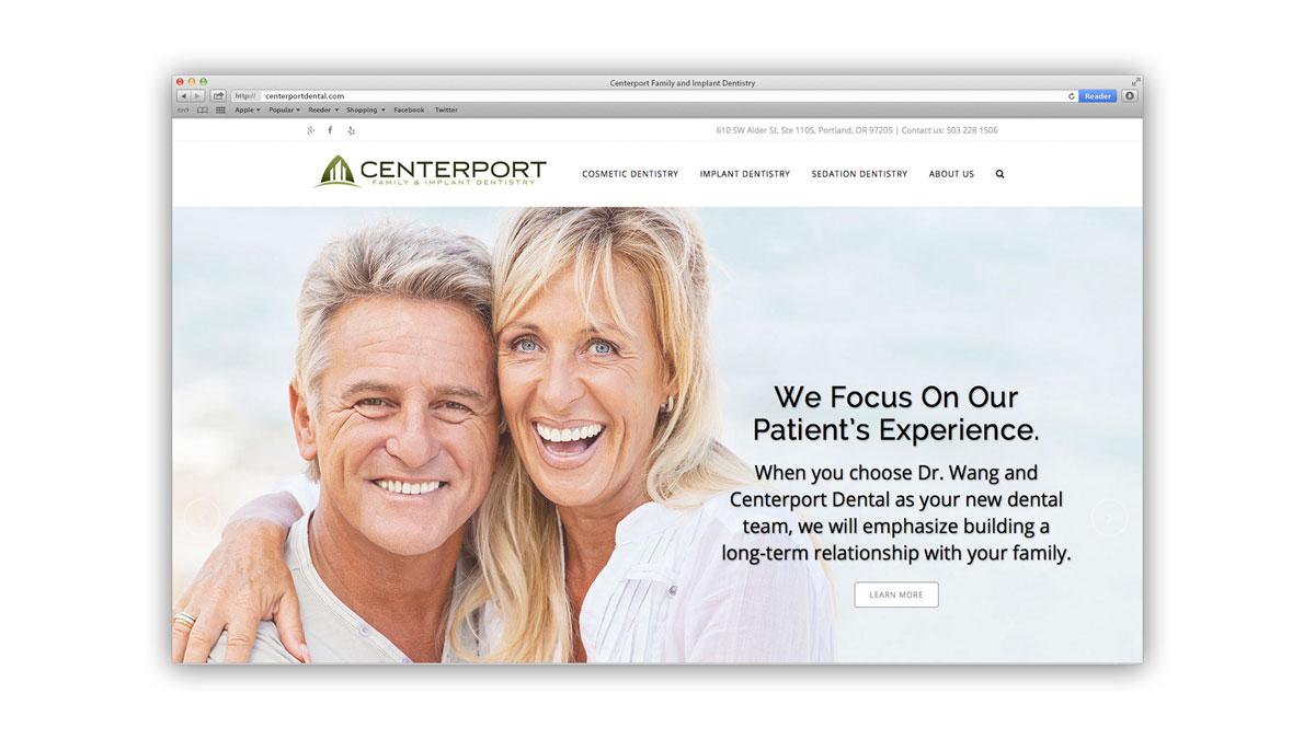 Centerport Website