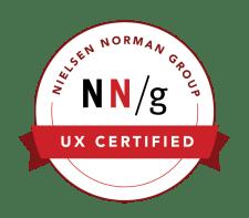 nn/g certification badge