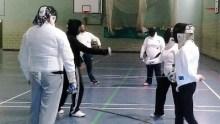 WDS sabre fencing Parklands
