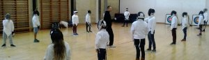 WDS Juniors fencing