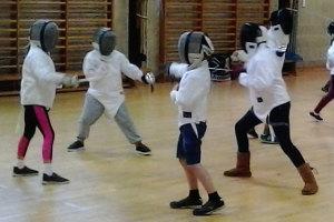 Juniors' Fencing returns April 24