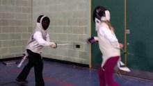 Image: Parklands Juniors fencing