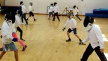 OCRA fencing and archery day
