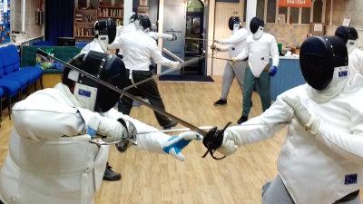 Historical swordplay continues November 2017