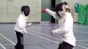 Parklands Juniors fencing