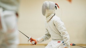Junior fencing sabre