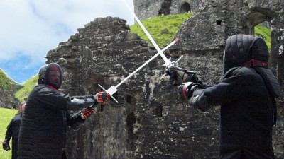 WDS at Okehampton Castle, 19 May 2019