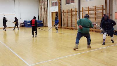 Free play in Okehampton HEMA session