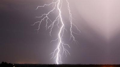 Dartmoor lightning