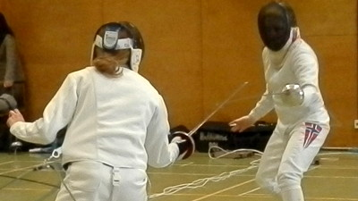 Fencing competitions and bouts
