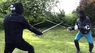 Image: Rapier-dagger sparring Meldon