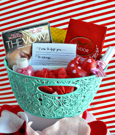 VDAY BLOG BASKET