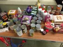 Another fab foodbank collection