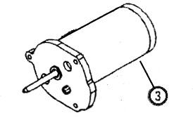 M-150S 12-volt Motor (Replaces 119000-51) [119200-551